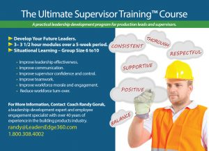The Ultimate Supervisor Training Course