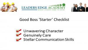 good boss starter 2