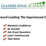 The Challenge of the Inexperienced Leading the Experienced