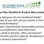 Produce More Leaders