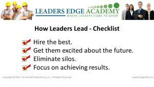 how leaders lead2