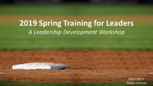 2019 Spring Training